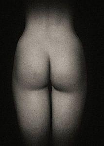 Naakte vrouw – Amy achterkant