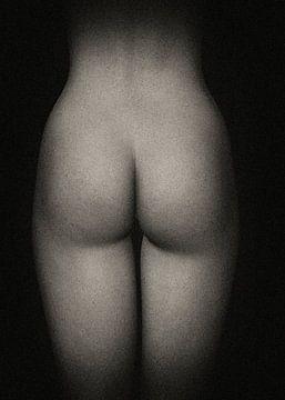 Naakte vrouw – Amy achterkant van Jan Keteleer