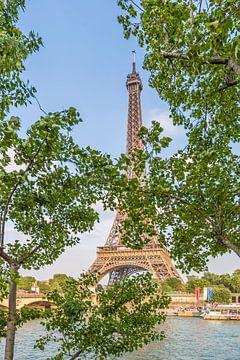 PARIS Eiffelturm & Seineufer von Melanie Viola