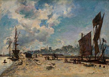 Kai in Honfleur, Johan Barthold Jongkind