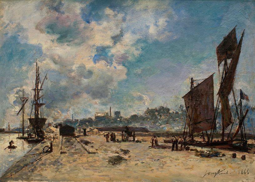 Kai in Honfleur, Johan Barthold Jongkind von Meesterlijcke Meesters