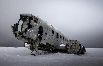 DC-3 Dakota wrak IJsland van Mario Calma