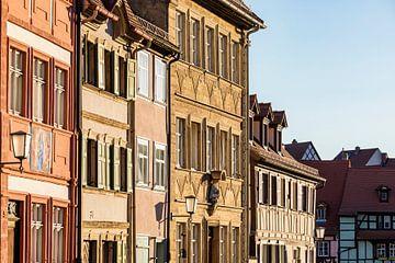 Historische Häuser in der Altstadt von Bamberg von Werner Dieterich