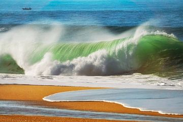 Die Welle, Atlantikküste von Portugal