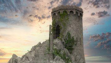Mystischer Turm 02 von H.m. Soetens