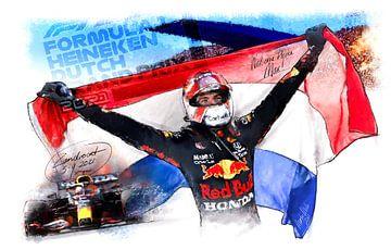Max Verstappen - GP Zandvoort 2021 van Martin Melis