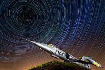 Star Trails vs. Starfighter sur Marc Hederik Fotografie