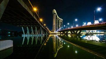Le port de Singapour sur Denis Feiner