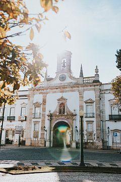 Arco da Villa, Faro stad. Algarve Portugal