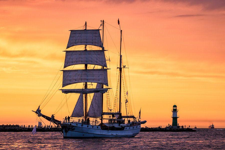 Sailing ship on the Hanse Sail