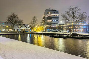 Winterwonderland aan de Piushaven