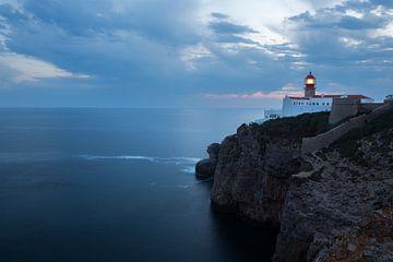 Vuurtoren Kaap Sint Vincent - Sagres - Portugal - Cabo de São Vicente van Jacqueline Lemmens