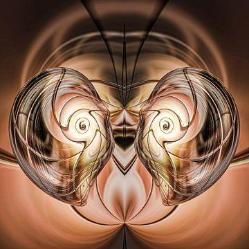 Fantasierijke abstracte twirlillustratie 113/ van PICTURES MAKE MOMENTS