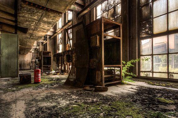 Verlaten Energiecentrale van Sven van der Kooi