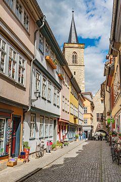 Koopmansbrug Erfurt van Gunter Kirsch