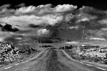 Road in Jotunheimen, Norwegen sur Johan Zwarthoed