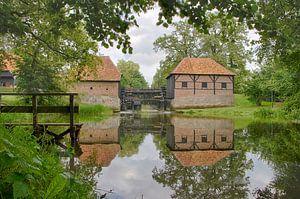 Moulin à eau d'Oostendorper Haaksbergen sur tiny brok
