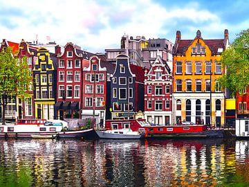 Aquarel Pencil - Cities of Colors - Amsterdam von Doesburg Design