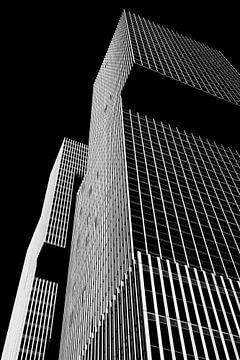 Architecture en noir et blanc. Le Rotterdam de Rem Koolhaas sur Marianne van der Zee