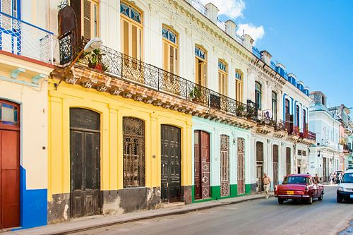 Kleurrijk Havana, colorful