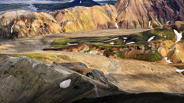 Vulkaanlandschap IJsland van videomundum