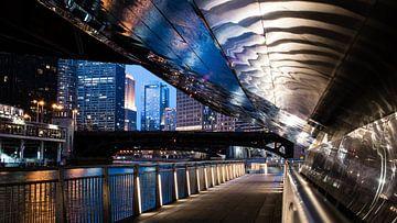 Chicago river van Bjorn van der Wee