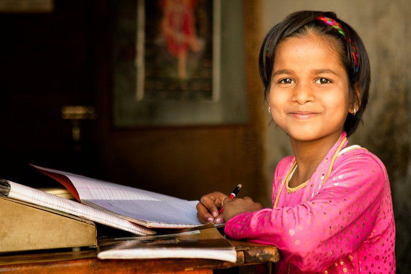 studeren in India van Paul Piebinga