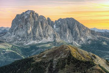 Groupe Sassolungo Tyrol du Sud sur Michael Valjak