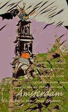 Amsterdam Westertoren van ! Grobie