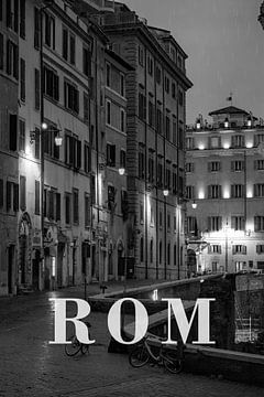 Städte im Regen: Rom von Christian Müringer