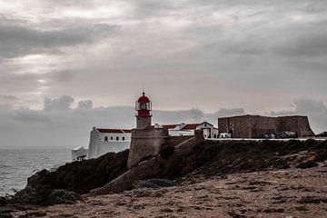 Leuchtturm Cabo São Vicente bei Sagres von Daan Duvillier