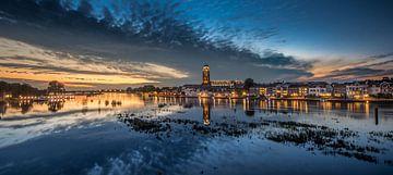 zonsondergang Deventer 1 van Lex Scholten