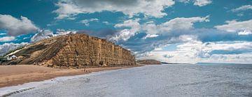 West Bay, het decor van Broadchurch, Groot-Brittannië van