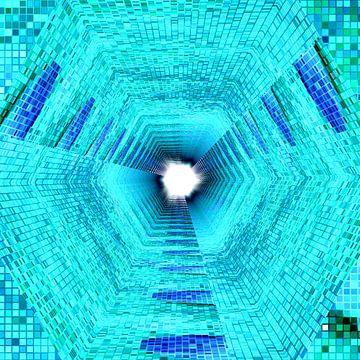 Tunnel #8 van Leopold Brix