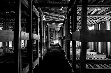 Concentratiekamp Sachsenhausen - Barack 38 von Maurice Moeliker
