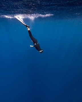 Diep snorkelen van