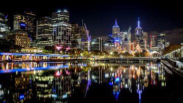 Skyline de Melbourne sur Karel Pops