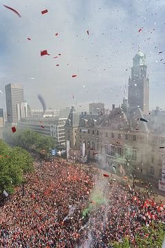 Feyenoord landskampioenschap sur Luc Buthker