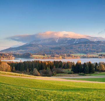 Grüntensee im Herbst, Allgäu, Bayern, Deutschland von Markus Lange