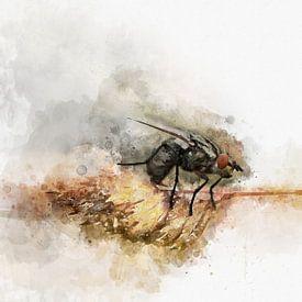 Insecten 2 van Silvia Creemers