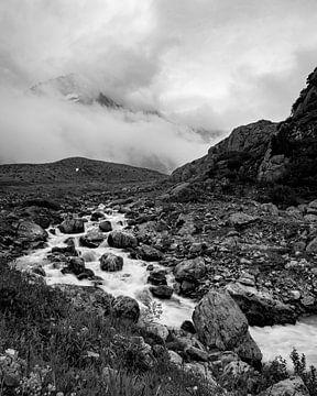 Sustenpass Berglandschaft von Patrick van Lion