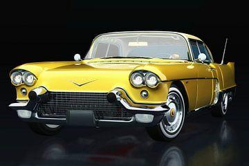 Cadillac Eldorado Brougham gebouwd in 1957 driekwart aanzicht van Jan Keteleer