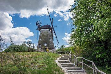 Wind mill in Benz van