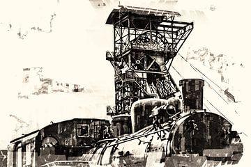 Mijnen in het Ruhrgebied van Johnny Flash