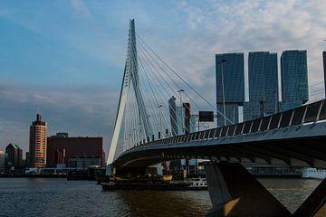 Rotterdam Erasmusbrug van Marcel Lodders
