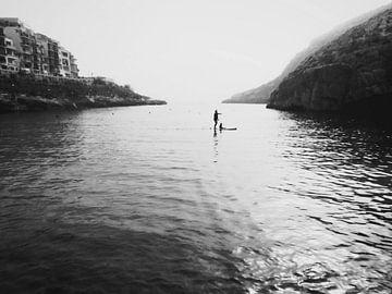 Xlendi Bay  in Gozo von Ann Caufrier