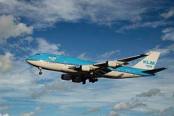Boeing 747-400 KLM, PH-BFP. De City of Paramaribo van Gert Hilbink
