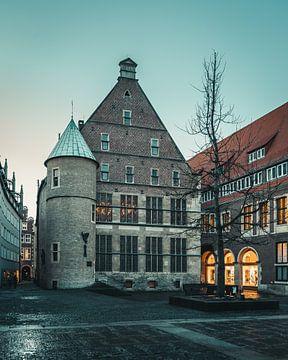 Hôtel de ville historique de Münster sur Steffen Peters
