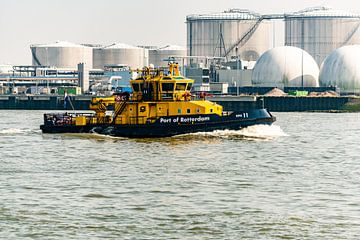 Port Of Rotterdam loodsschip. van