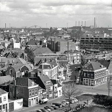 Dordrecht de l'Hôtel de ville 1968 sur Dordrecht van Vroeger